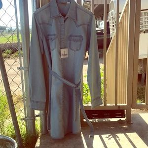 Denim Wrangler Shirt style Dress